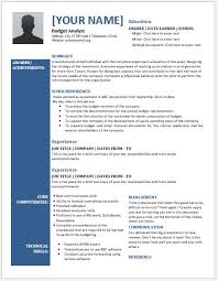 budget analyst resume template budget analyst resume sample
