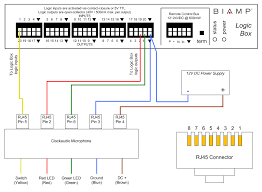 connecting clockaudio microphones and mounts to a logic box clockaudio generic logicbox2 png click the diagram