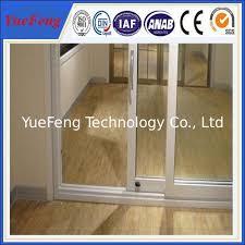 china aluminium door frame 6063 high standard aluminium profile for sliding glass door supplier