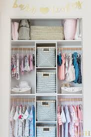 ways to organize your small baby closet