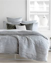 dkny city pleat gray queen duvet cover for bedroom decoration ideas