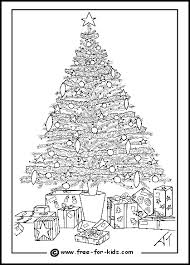 Christmas Tree Online Coloring Page Swifteus