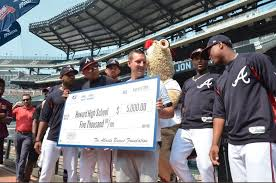 Howard's Johnson is Braves' Community Hero, honored at game - WRCBtv.com    Chattanooga News, Weather & Sports