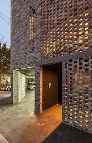 the beyond the screen project by obba office for beyond boundaries architecture is located bespoke brickwork garage office