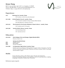 Four Types Of Resumes Best Business Template