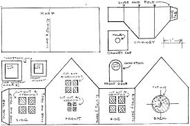 Printable Christmas Village Templates Download Them Or Print