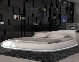 Splendid Bedroom Furniture Designs Ideas with White Round Floor Beds In  Futuristic Bedroom Design