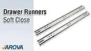 soft close drawer runners. arova draw runners soft close drawer k