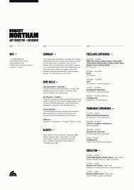 Portfolio For Resume Impressive Design Inspiration The Art Of The Résumé Pinterest Resume