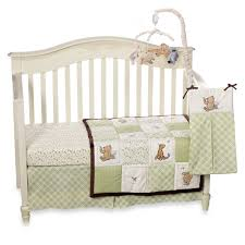 baby crib bedding set by disney my friend pooh collection classic pooh 4 piece set com