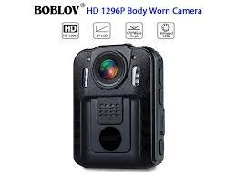 <b>Boblov WN9</b> 1296P Full HD Portable Police <b>Body</b> Camera Pocket ...