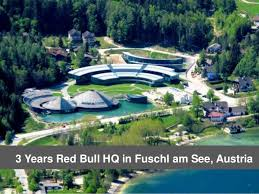 austria view red bull. 3 Years Red Bull HQ In Fuschl Am See, Austria View