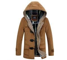 men woolen coats brand design winter thick snow warm long cashmere trench coats male slim fit