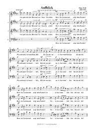 geistliche lieder nach gedichten von eichendorff wolf hugo  aufblick no 1