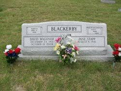 David Wagoner Blackerby (1941-2009) - Find A Grave Memorial
