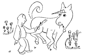 the unicorn in the garden by james thurber reprinted from