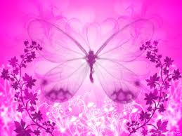Wallpapers For Ppt Free Download Pink Butterfly Wallpaper Ppt Backgrounds For