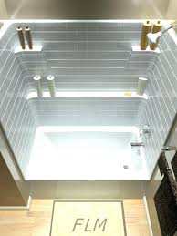 1 piece shower one bathtub combos bathtubs