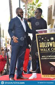 Tyler Perry & Idris Elba editorial stock photo. Image of celebrity -  166533118