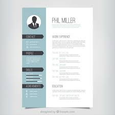 Permalink to Free One Page Resume Template