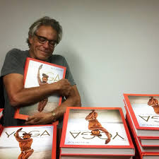 happy michael o neill with the first copies of his yoga book om