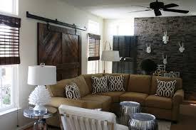 Interior: Modern Rustic Solid Wooden Barn Style Sliding Door For ...