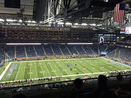 Ford Field Seating Chart View Breakdown Of The Ford Field Seating Chart Detroit Lions