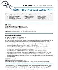 10 Medical Assistant Resume Template | Riez Sample Resumes