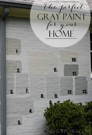 finding the perfect gray paint for your home real life tale of trials errors