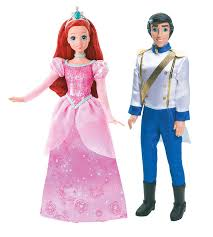 Small Picture Amazoncom Disney Princess and Prince Ariel and Prince Eric Doll