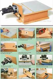 Table Beautiful Horizontal Router Table Benchtop Router Table
