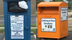 Donation Companies That Pick Up Are Bins That Claim To Collect For Charity What They Appear To