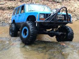 jeep cherokee rock crawler