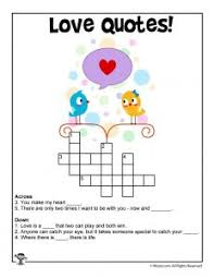Valentines Day Quotes For Preschoolers Valentines Day Word Worksheets Woo Jr Kids Activities