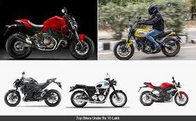 Top Bikes Under Rs Lakh Ndtv Carandbike