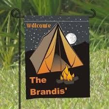 camping garden flag. Plain Camping Camping Yard Flag Personalized Inside Garden