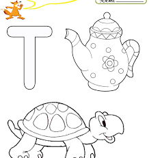 Pictures Letter T Coloring Pages In For Kids Free Printable Page ...