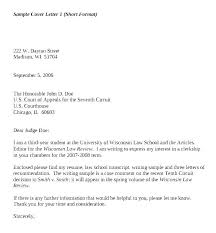 Sample Cover Letter Format Example Gorgeous Resume Cover Letter Basics Examples Of Letters For A Basic Admini