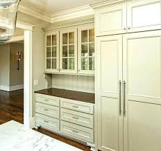 diy china cabinet refrigerator and built in china cabinet this gorgeous khaki colored kitchen diy china cabinet plans