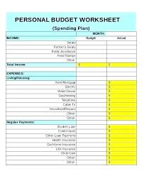 Personal Weekly Budget Templates Excel Budget Template Weekly Viralpole Info