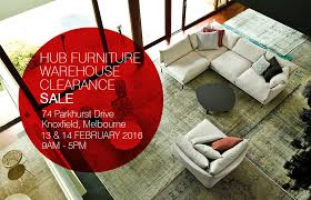 Small Picture The countdown is on for Hub Furnitures Warehouse Clearance Sale