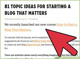 How To Create A Blog How To Create A Video Blog 8 Steps With Pictures Wikihow