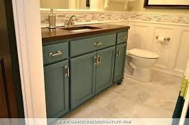 ikea butcher block countertop butcher block bathroom bathroom remodel vanity made from stock oak cabinets wood style butcher