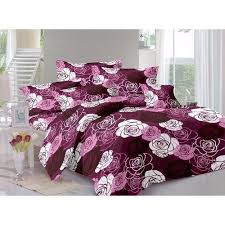 bed sheet designing printed cotton flora print bed sheet set rs 450 set mustard