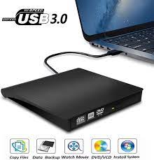 USB 3,0 Externes DVD RW CD Schriftsteller Stick Brenner Reader Player  Optische Laufwerke Für PC Laptop|Optical Drives