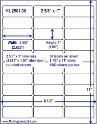 Avery 1 2 X 1 3 4 Template Avery Template 22805 Metabots Co