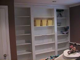 Premade Built In Bookcases Hidden Door Bookshelf 5 Steps With Pictures