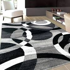 area rug grey black and grey area rugs grey modern circles grey abstract contemporary area rug