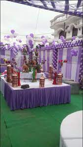 tent decoration for birthday party