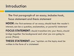 parts of the essay some definitions instructor mrs williams  3 introduction  the first